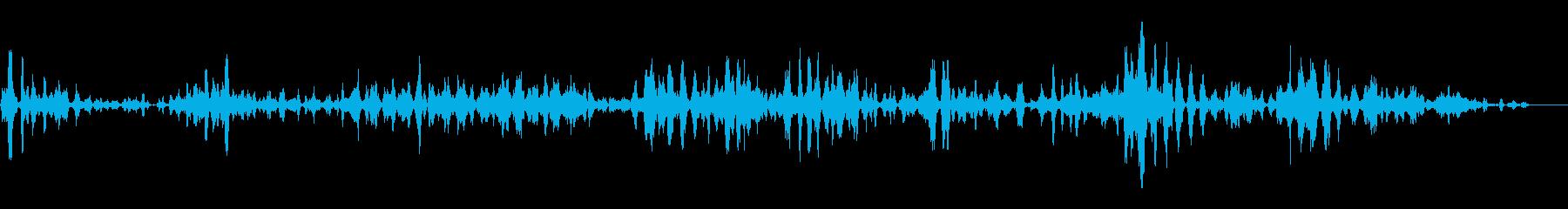 小規模スタジオの視聴者:さまざまな...の再生済みの波形