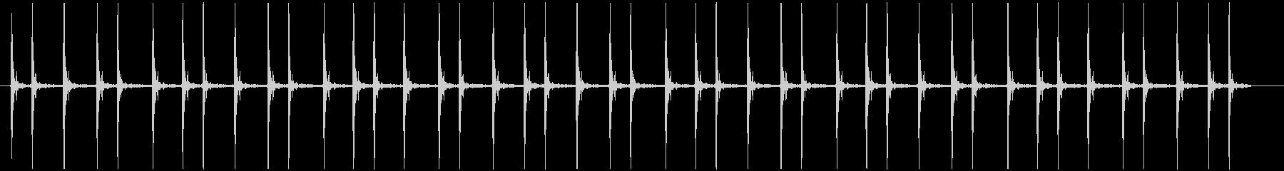 震える慌てる コミカル長めカタカタカタ…の未再生の波形