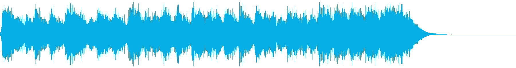 古風で格調高いフルオケジングル合唱抜の再生済みの波形