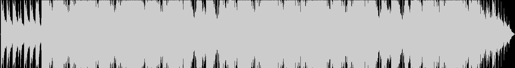 可愛いメロディのピアノBGMの未再生の波形