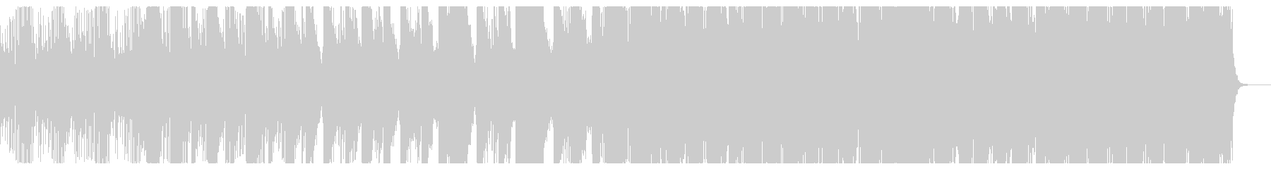 琴(箏)中心の落ち着いた和風曲の未再生の波形