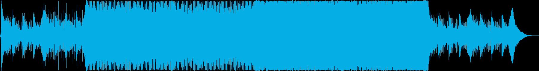 爽やかなEDM、企業VPの再生済みの波形