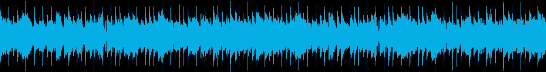 アコースティック楽器が追加された、...の再生済みの波形