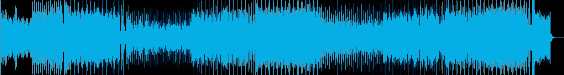 アイドルソング風キラキラポップ4つ打ちcの再生済みの波形