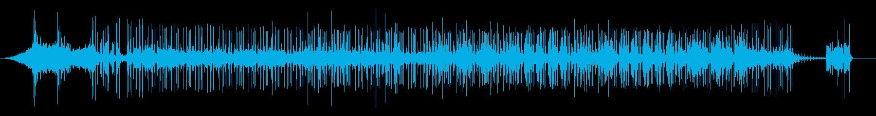 Hip Hopの再生済みの波形