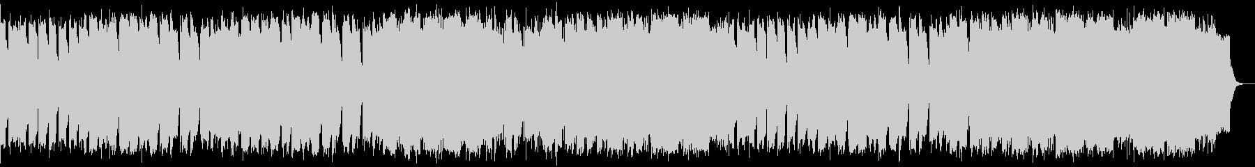 シャッフルのリズムに可愛げなSAXのメロの未再生の波形