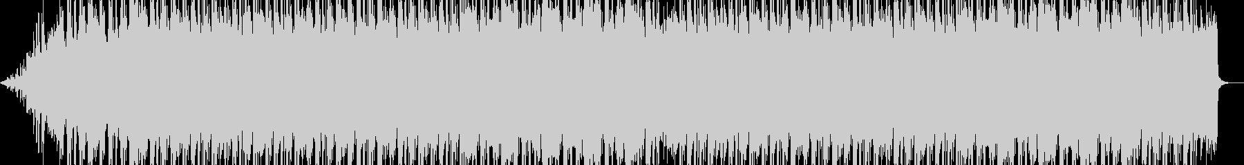 クラシック系ビートの未再生の波形