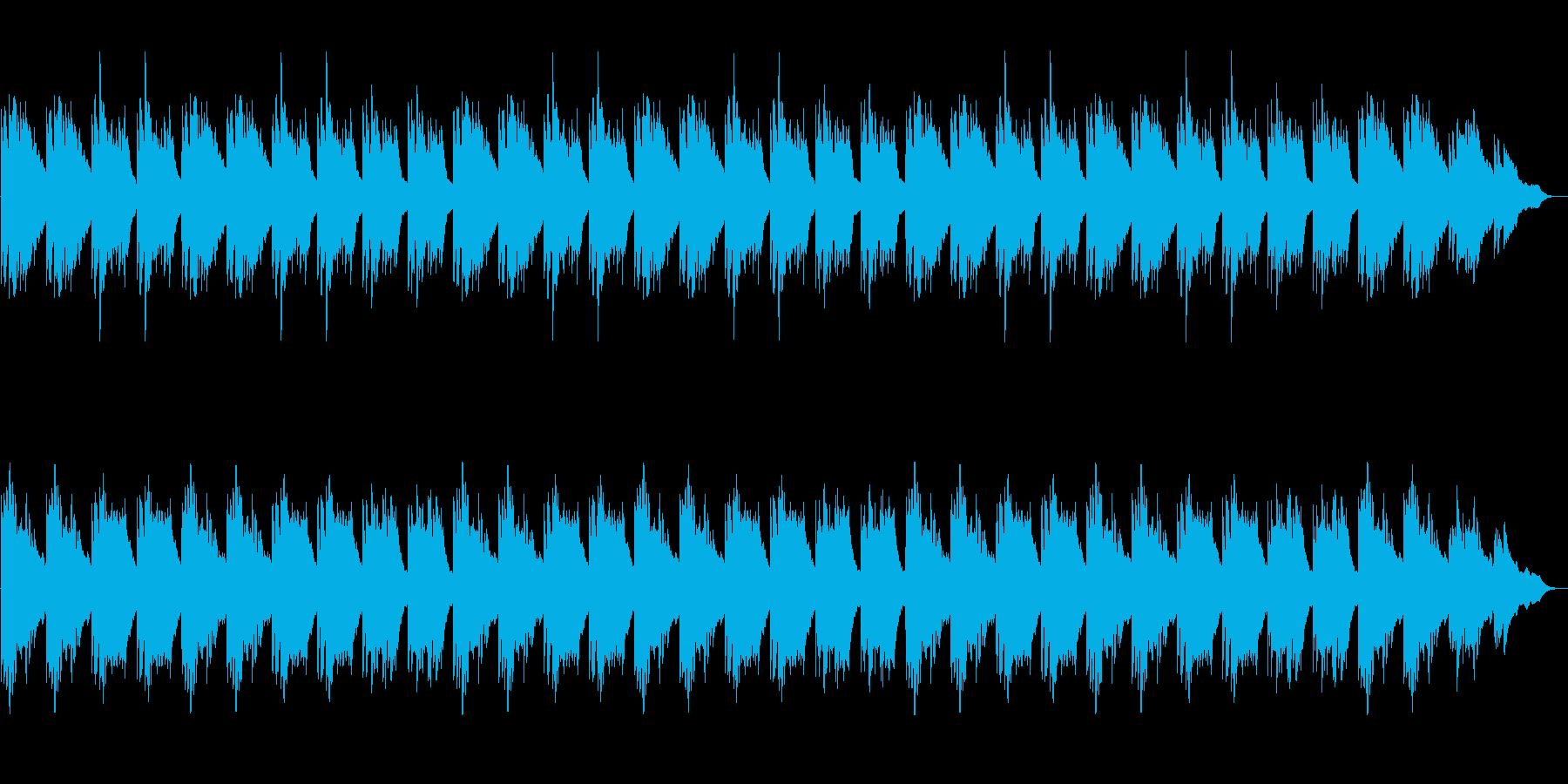 落ち着き・神秘的・ハープ・映像・ゲーム用の再生済みの波形