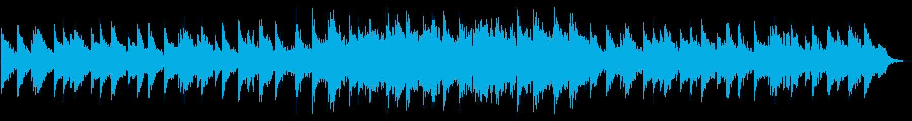 静かなピアノの旋律が印象的なバラードの再生済みの波形