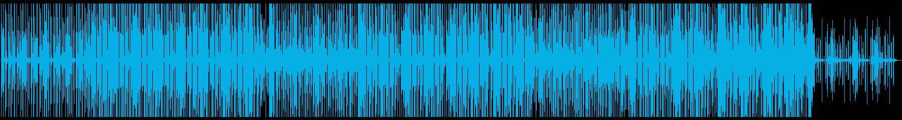 ファンキーなラテン系ストラットの再生済みの波形