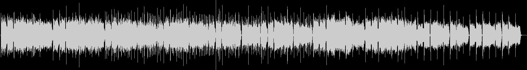 幻想的な音色のエレクトロニカの未再生の波形
