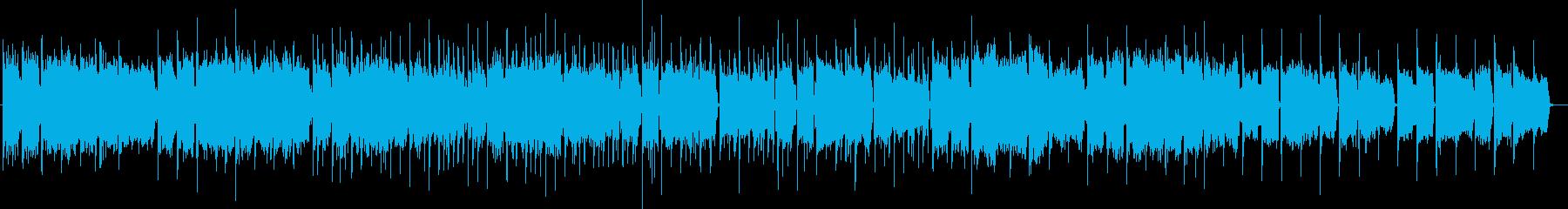 幻想的な音色のエレクトロニカの再生済みの波形