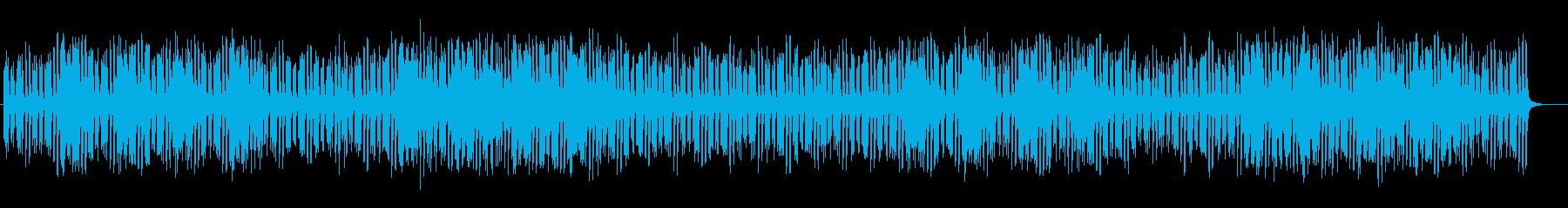 ウキウキする弾みのある明るいメロディーの再生済みの波形