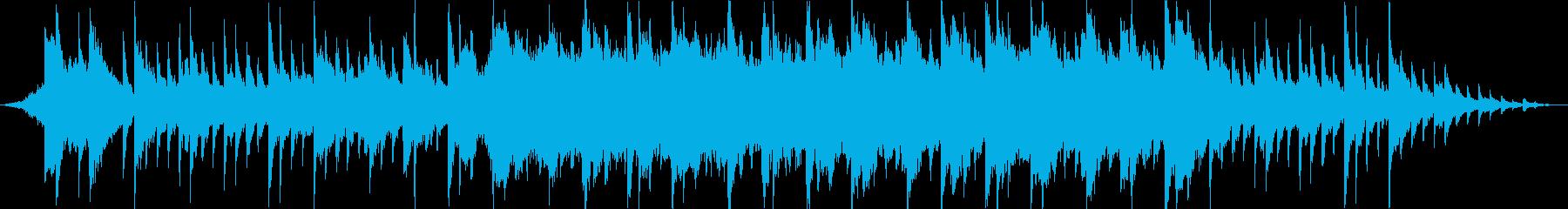 切なく浮遊感のあるインストの再生済みの波形