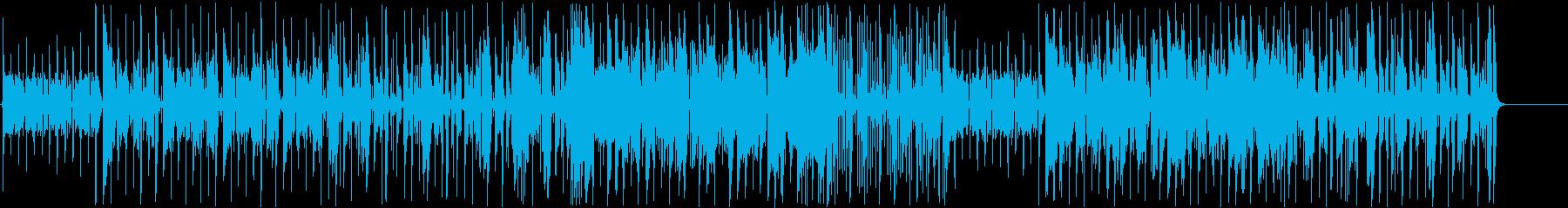 ファンク・インストゥルメンタル。オ...の再生済みの波形