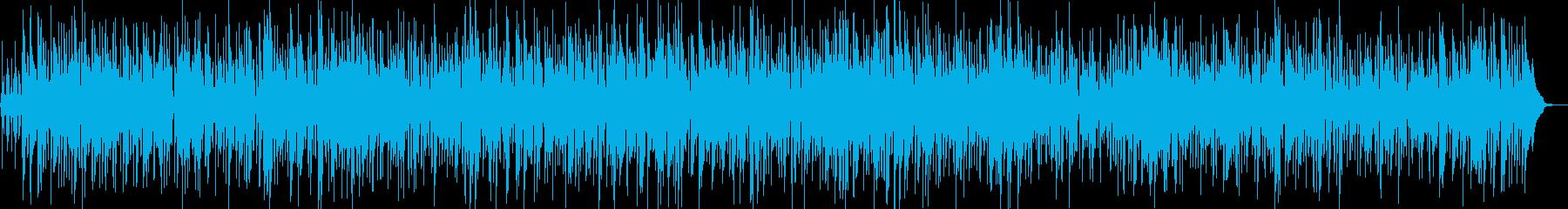 エネルギッシュなファンクボサノバの再生済みの波形