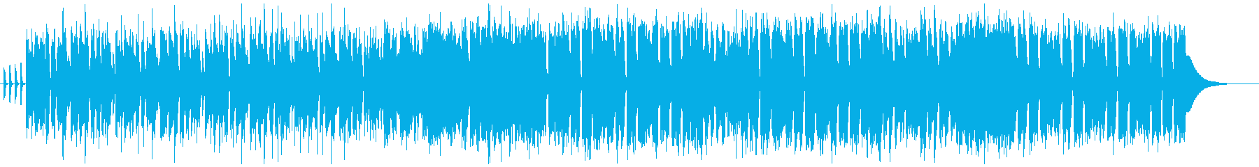 明るくアップテンポな王道ポップスの再生済みの波形