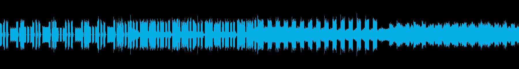 【リズム抜】ハードなトランスの再生済みの波形