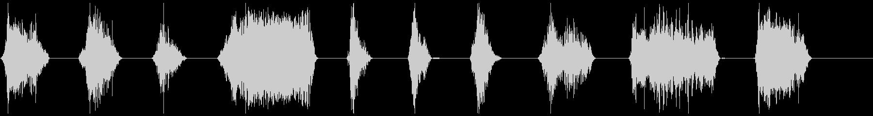 モンスター、タイプ2、Ro音21-30の未再生の波形