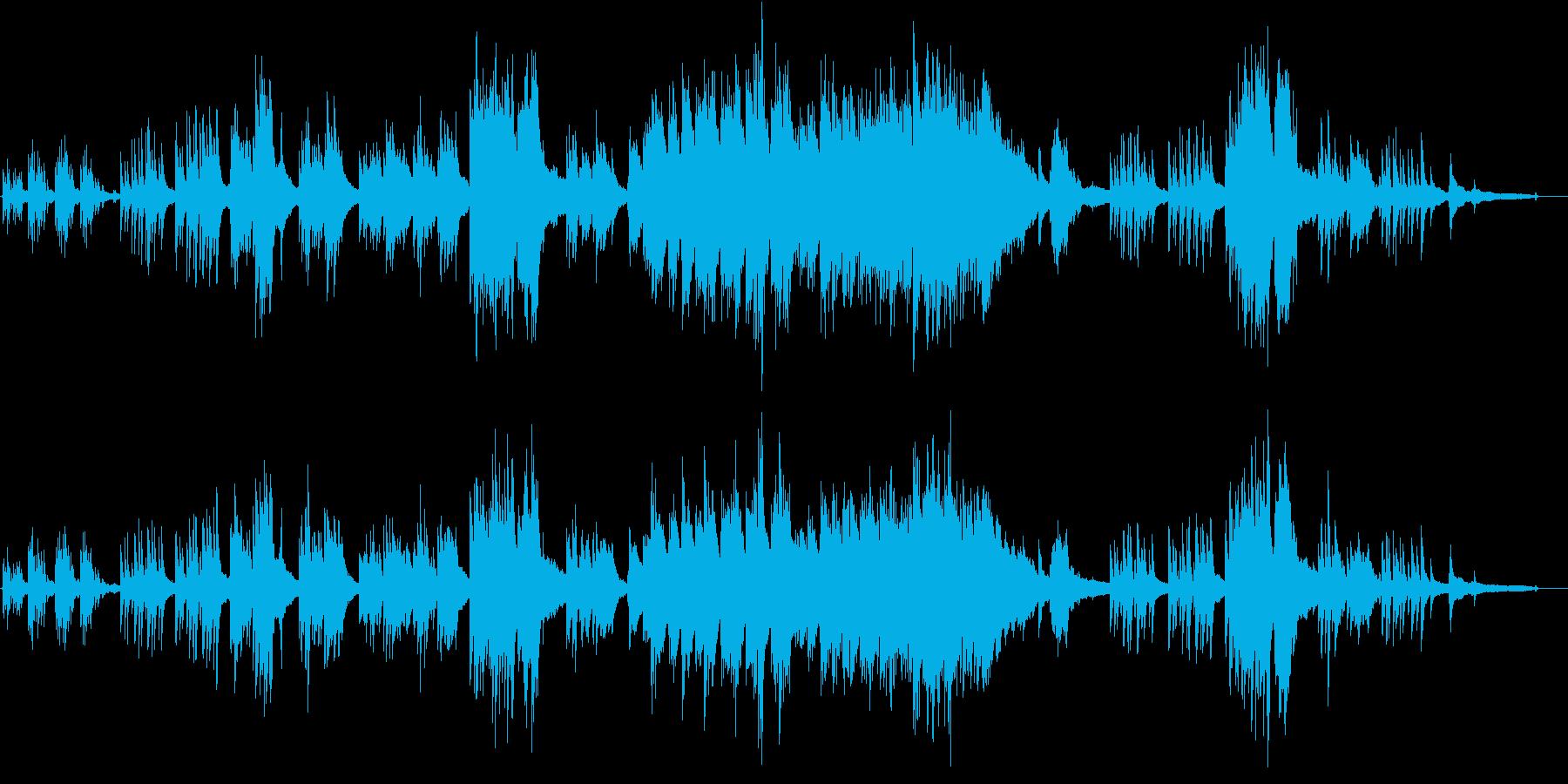 童謡「故郷の空」優しいピアノアレンジの再生済みの波形