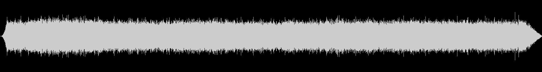 ナイアガラの滝:重い、滝の後ろからの未再生の波形