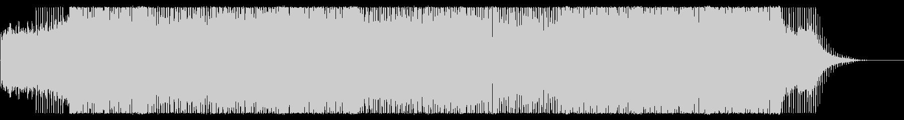 宇宙をイメージしたシンセサイザー主体の曲の未再生の波形