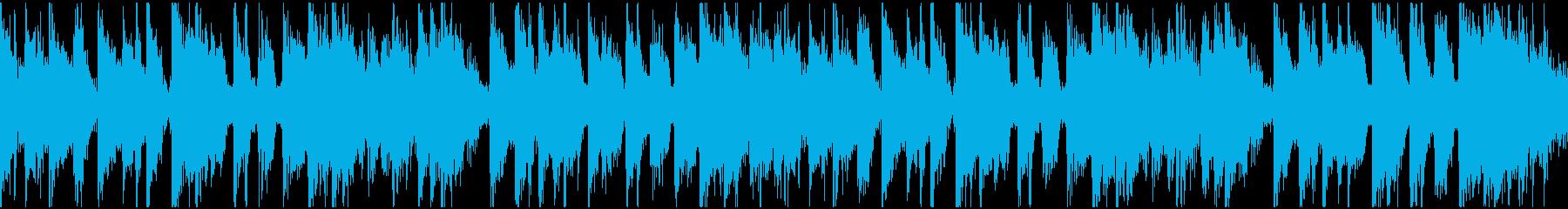 ループ:中華・カンフー映画風ファンクv2の再生済みの波形