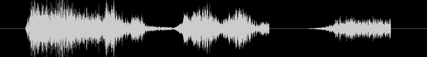 イメージ クレイジートーク01の未再生の波形