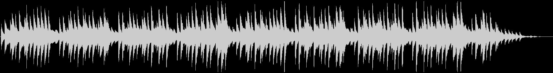 蛍の光 シンプルなピアノソロの未再生の波形