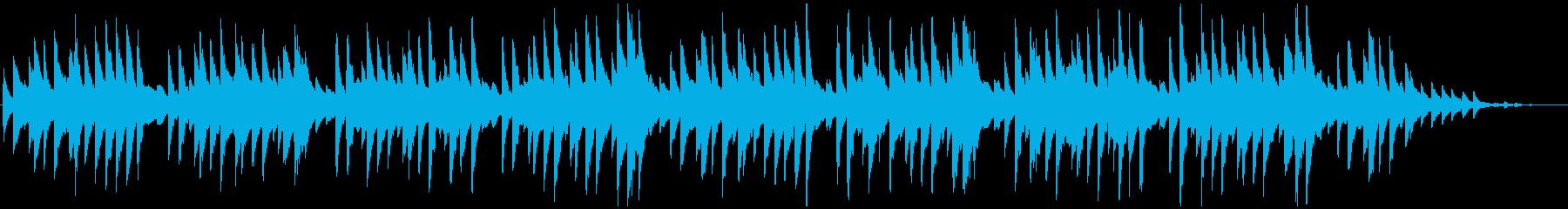 蛍の光 シンプルなピアノソロの再生済みの波形