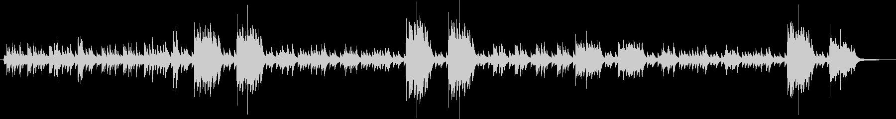 サティ「グノシエンヌ」第一番 ピアノの未再生の波形