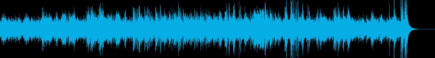 ピアノ連弾・ジャズ・ボサノバ・おしゃれの再生済みの波形