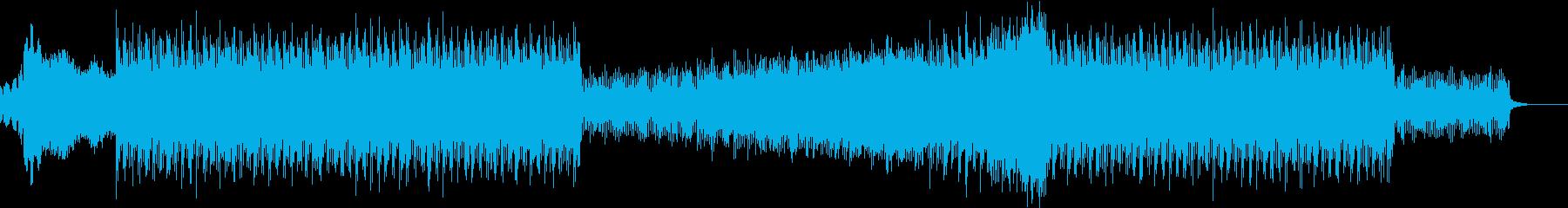 中田ヤ○タカ風BGMの再生済みの波形