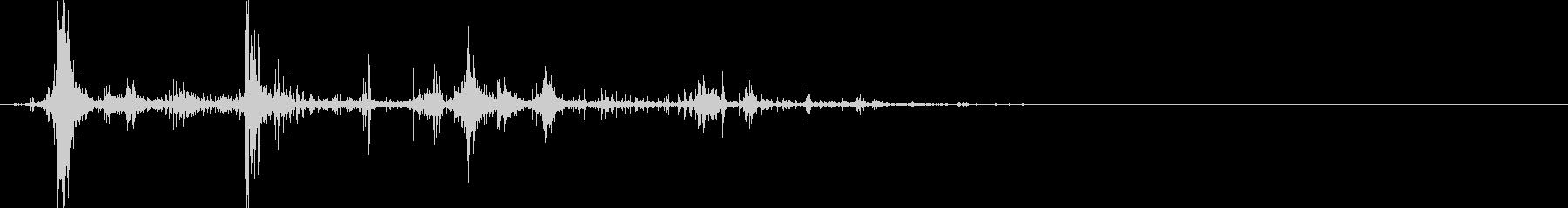 インパクトボーンクランチの未再生の波形