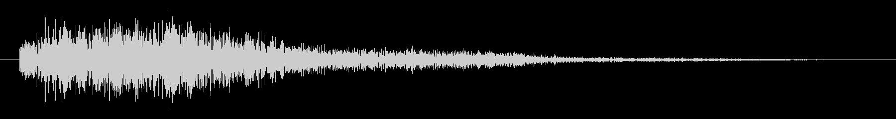 電子音 パラノイアの未再生の波形
