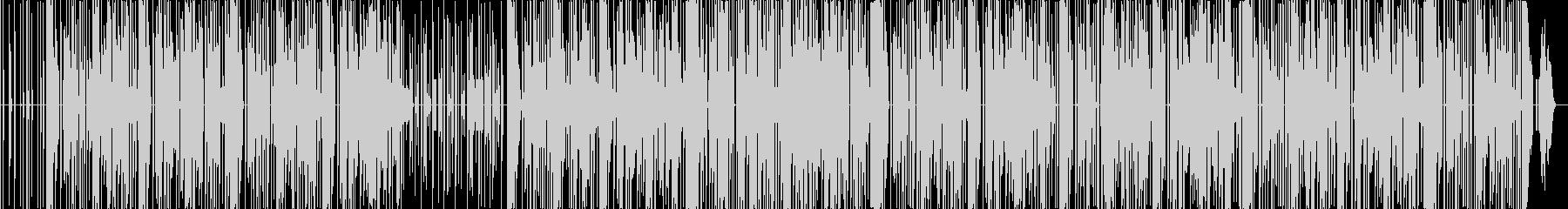 懐かしいパズル系ゲームサウンド風BGMの未再生の波形