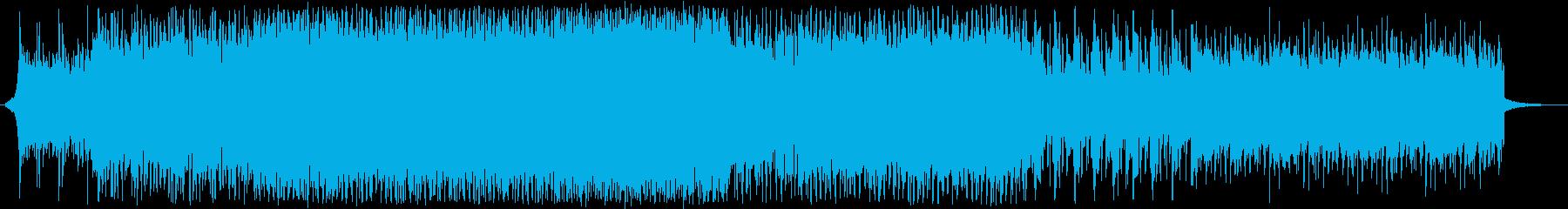 BGM_白熱する闘いの再生済みの波形