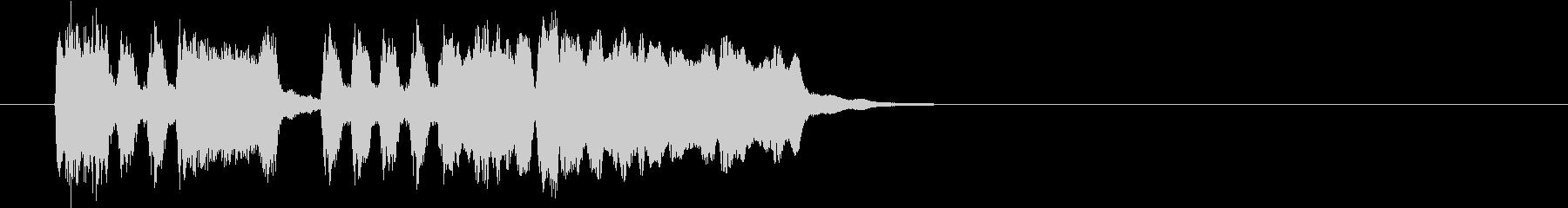 Tpファンファーレ 普通め速め滑らかめの未再生の波形
