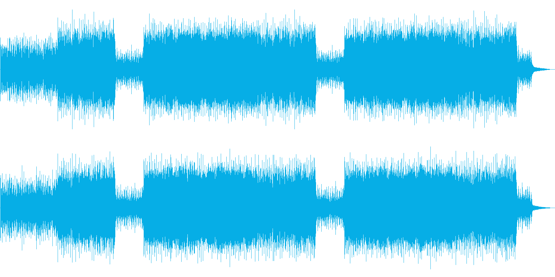 Live violin full of hope and happiness's reproduced waveform