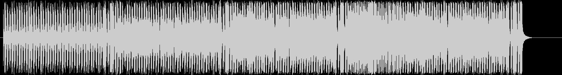 スピード感のある2管フロントのジャズの未再生の波形