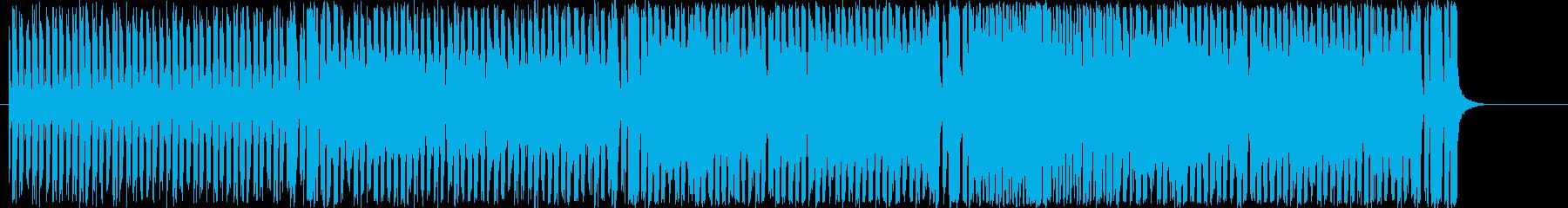 スピード感のある2管フロントのジャズの再生済みの波形