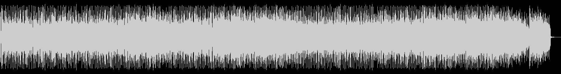 FMで流れてそうな爽やか系スムースジャズの未再生の波形