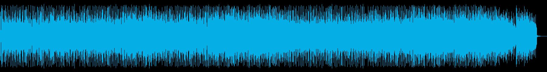 FMで流れてそうな爽やか系スムースジャズの再生済みの波形