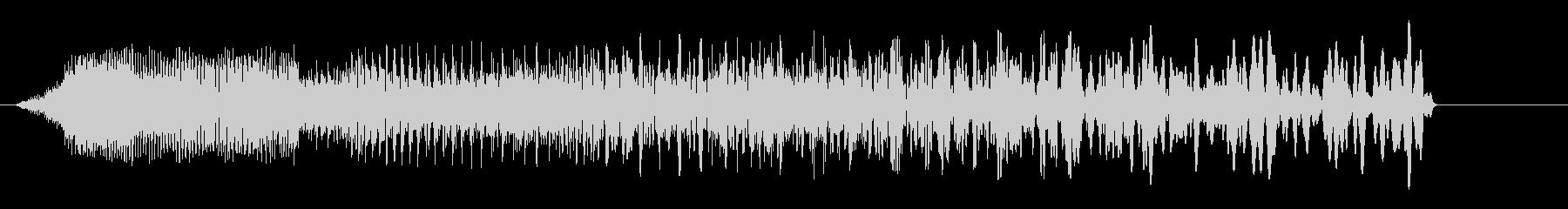 ビューン(ビーム音、警告音)の未再生の波形