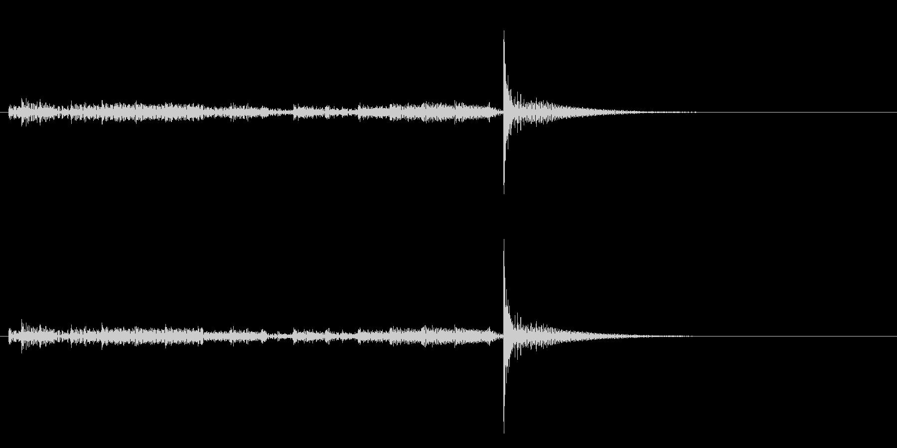 「ドロドロ…」大太鼓のフレーズ音+FXの未再生の波形