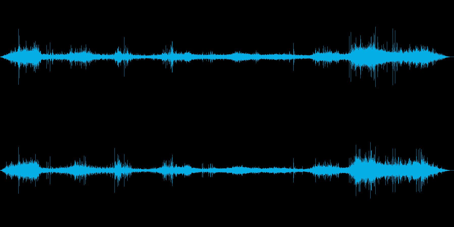 【環境音】500個の風鈴の音02の再生済みの波形
