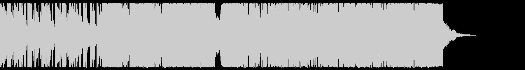 アップテンポのノリの良い曲ですの未再生の波形