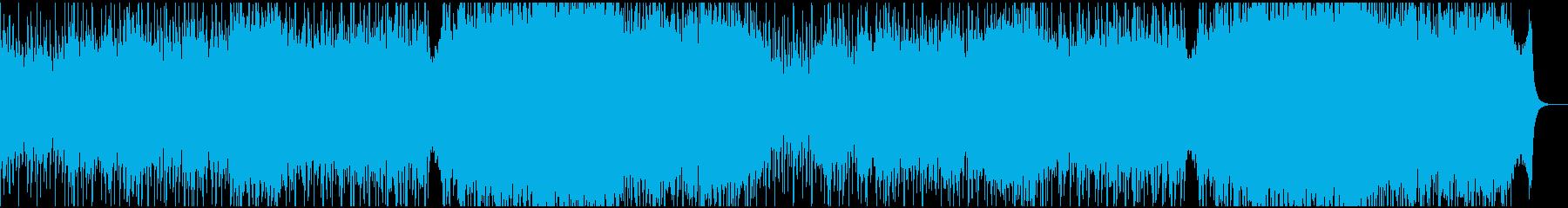 臨場感、迫力あるオーケストラの再生済みの波形