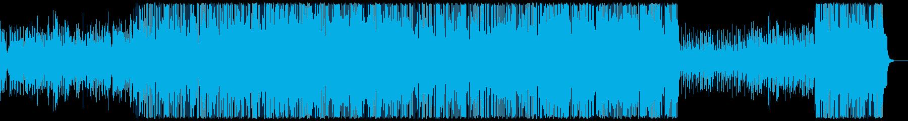 日常の風景の再生済みの波形
