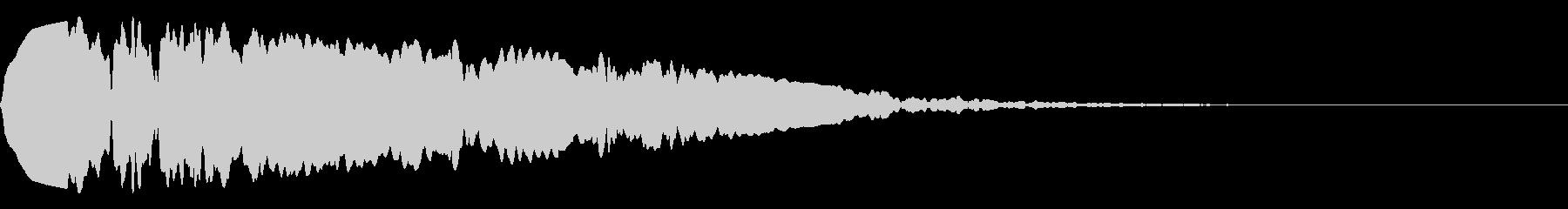 耳鳴り1の未再生の波形